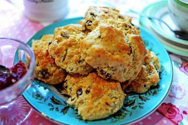 Fruit Scones – (V) Pack of four