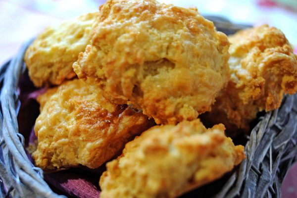 Cheese Scones – (V) Pack of four