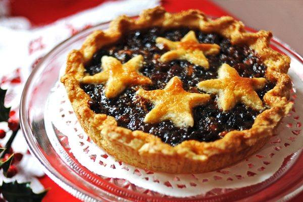 Hand Crafted Mince Tart (V)